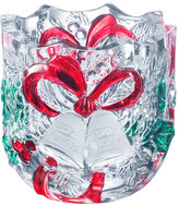 Mikasa Holiday Bells Glass Votive