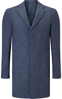John Lewis Donegal Wool-blend Overcoat