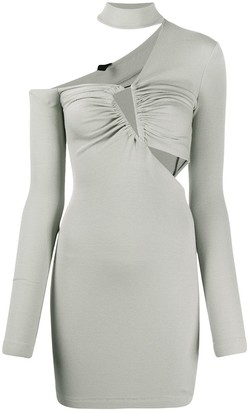 Unravel Project Cut-Out Ribbed Dress