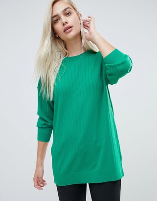 Asos DESIGN Oversize Sweater In Fine Knit