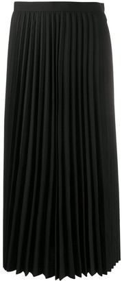 Junya Watanabe Tropical pleated skirt
