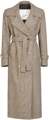 Giuliva Heritage Collection The Christie Wool Prince Of Wales Check Trench Coat