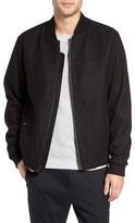 Michael Kors Men's Wool Blend Bomber Jacket