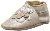 Robeez Unisex Babies' BUNCH FLOWER Babyshoes and Slippers Gold Size: 4.5-5 Child UK