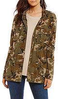GB Camouflage Printed Anorak Jacket