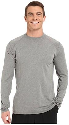 tasc Performance Carrollton Long Sleeve Shirt (Indigo Heather) Men's Long Sleeve Pullover
