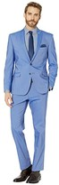 Nick Graham Chambray Blue Suit (Chambray Blue) Men's Suits Sets