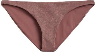 Vitamin A | Luciana Metallic Bikini Bottom