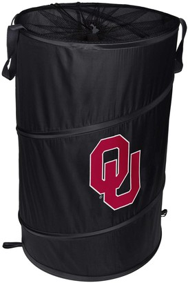 Oklahoma Sooners Cylinder Pop Up Hamper