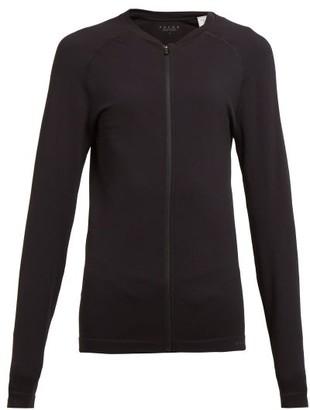 Falke Zipped Performance Jacket - Black