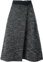 Marc Jacobs bouclé wrap skirt - women - Nylon/Mohair/Virgin Wool - 4