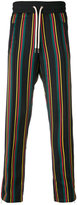 Palm Angels striped joggers