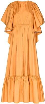 Roksanda cutout ruffled gown