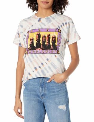 Obey Women's Short Sleeve Custom Box TEE