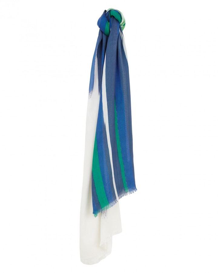 Jaeger Staggered Brushstroke Scarf