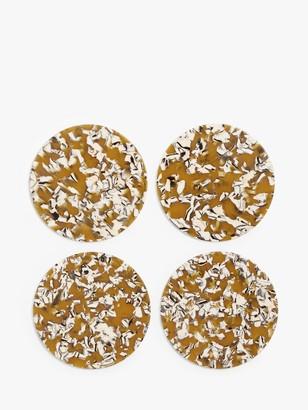 John Lewis & Partners Splatter Resin Coasters, Set of 4