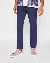 Ted Baker Slim fit brushed cotton chinos