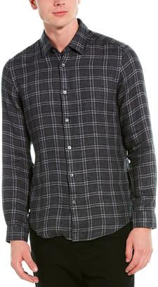 HUGO BOSS Lukas Linen Woven Shirt