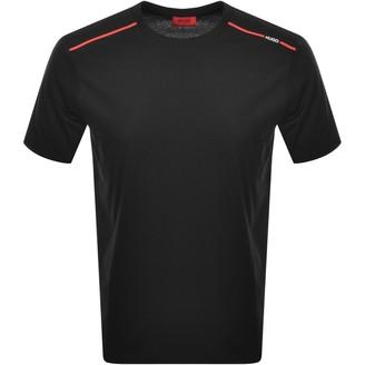 HUGO BOSS Dyrtid Crew Neck Short Sleeve T Shirt Black