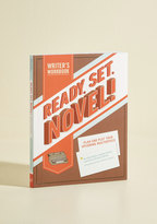 Chronicle Books Ready, Set, Novel! Writer's Workbook