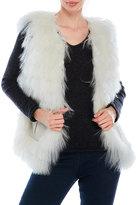 Dena Real Mongolian Lamb Fur Vest
