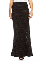 IC Collection Textured Maxi Skirt