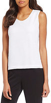 Allison Daley Scoop Neck Solid Tank