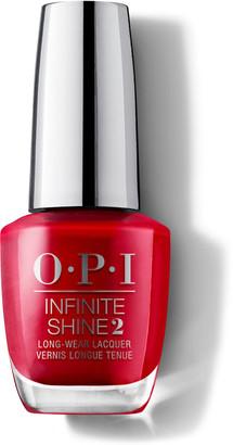 OPI Infinite Shine Gel Effect Nail Lacquer 15Ml Relentless Ruby