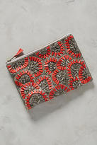 Anthropologie Beaded Ripple Pouch