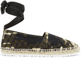 Pierre Hardy Printed canvas espadrilles