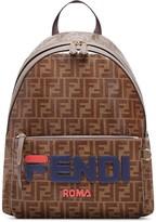 Fendi FendiMania double F logo backpack