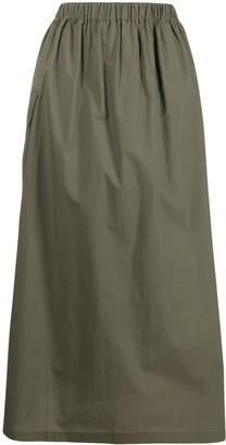 Roberto Collina High-Waisted Midi Skirt