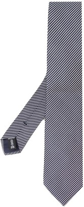 Giorgio Armani Adjustable Striped Tie