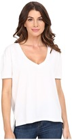 Alternative Organic Pima Boxy V-Neck