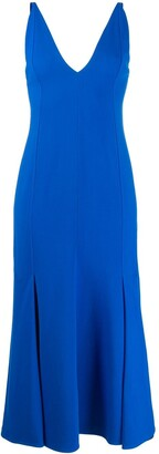 Victoria Beckham Camisole Flared Dress