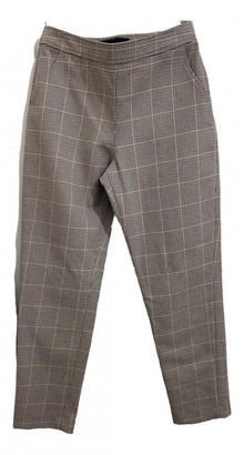 Vanessa Seward Multicolour Cotton Trousers for Women