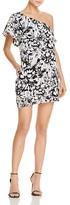 Aqua Floral One Shoulder Ruffle Dress - 100% Exclusive