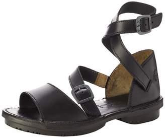 Fly London Women's FOXY476FLY Ankle Strap Sandals (Black Sole) 000 4 (37 EU)