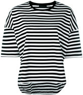 Diesel Black Gold horizontal stripe T-shirt - women - Cotton - XS