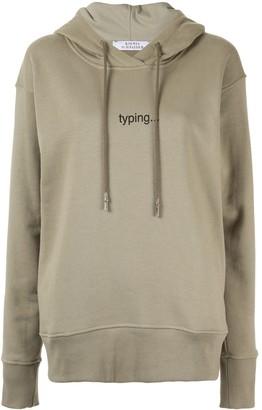 Ksenia Schnaider Typing hoodie