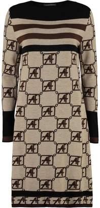 Alberta Ferretti Virgin Wool Dress