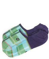 Stance Super Invisible China Plaid Socks