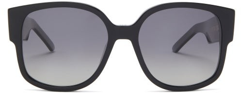 Thumbnail for your product : Christian Dior Wildior Round Acetate Sunglasses - Black