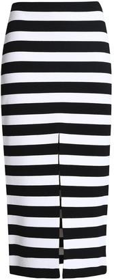 Proenza Schouler Striped Stretch-knit Midi Skirt