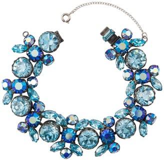 Susan Caplan Vintage 1960s Vintage Regency Crystal Bracelet