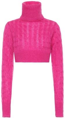 Matthew Adams Dolan Mohair-blend turtleneck sweater