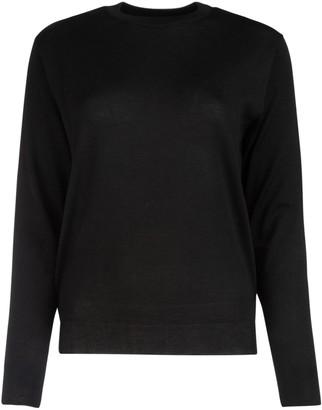 Balenciaga Logo Intarsia Knitted Sweater