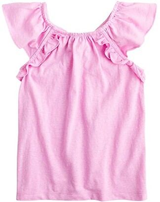 crewcuts by J.Crew Sophia Tank Top (Toddler/Little Kids/Big Kids) (Neon Orchid) Girl's Clothing