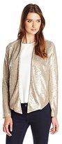 Sam Edelman Women's Anya Sequin Blazer