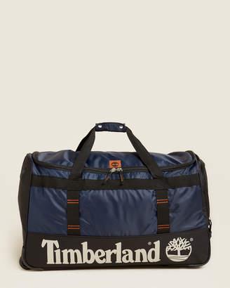 "Timberland 30"" Blue & Black Jay Peak Wheeled Duffel"